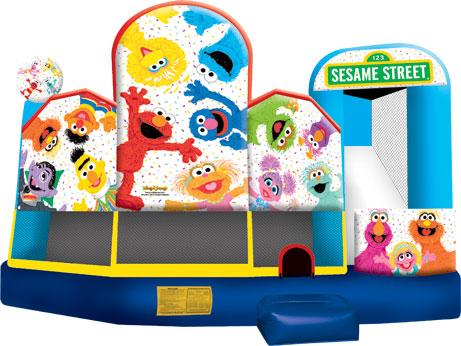 5 & 1 Combo - Sesame Street