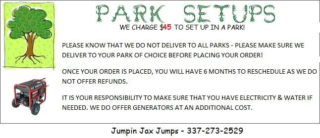 Park Set Up