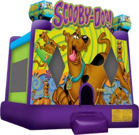 Scooby Doo Jump - with basketball hoop
