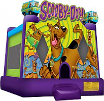 Scooby Doo Jump - with basketball hoop