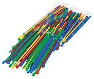 Snow Cone Straws - 200 Count