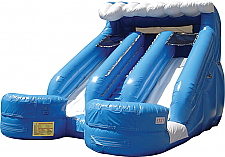16 Ft. Double Splash Water Slide