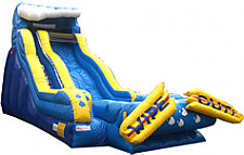 19 Ft. Wipe Out Wet Dry Slide