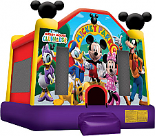 Mickey Park Jump - with Basketball hoop
