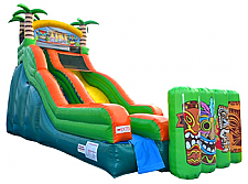 19 Ft. Tiki Island Wet/Dry Slide