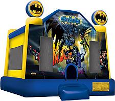 Batman Jump - with basketball hoop