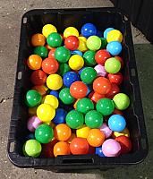 Plastic Balls - 250 Count