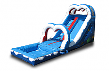 16 Ft. Wet/Dry Slide with Fish on side
