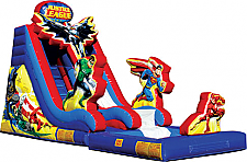 19 ft. Justice League Wet/Dry Slide